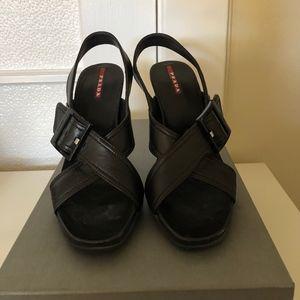 Prada Heels Calzature Donna Brown